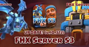 Приватный сервер FHX S3 с ТХ 12 и деревней строителя (10.322)